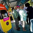 OV-chipkaart, demobus, reizigers, bus