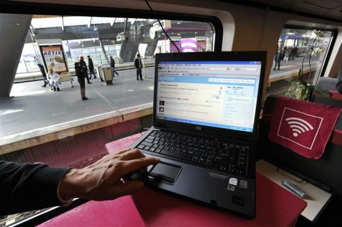 Gratis internet in trein
