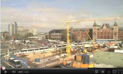 Metrolijn, Noord/Zuidlijn, Amsterdam, YouTube