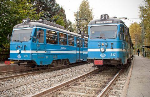 Stockholm-Lidingö, tramlijn