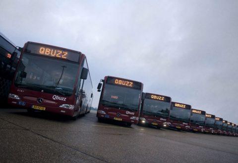 Qbuzz vervoersbedrijf, bus