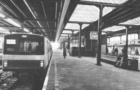 Metro, Amsterdam, archieffoto