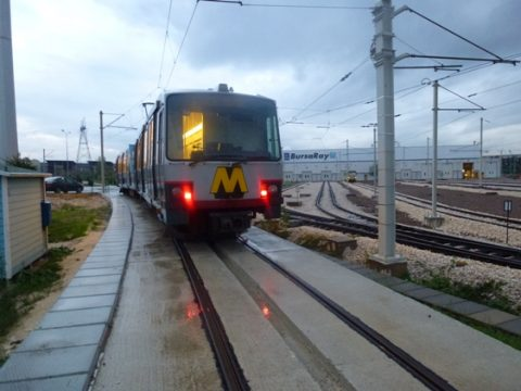 Metro, RET, Bursa, Turkije, foto: René van Oostenbrugge / retmetro.nl