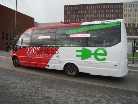 elektrische bus Den Bosch