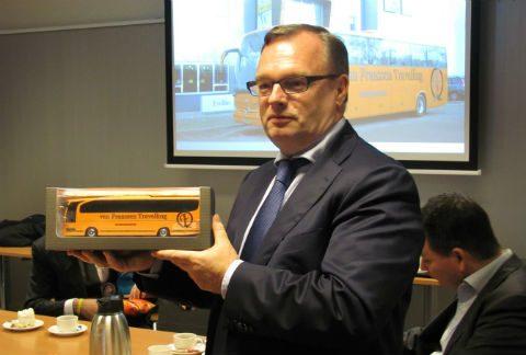 Cees Hage, directeur, TCR