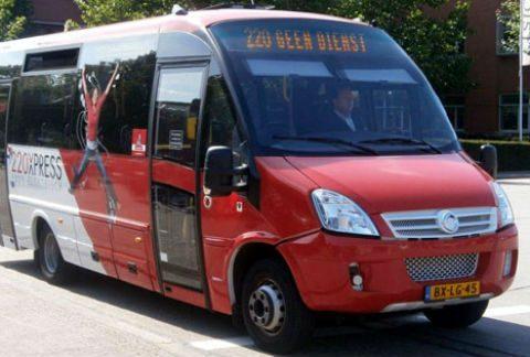 elektrische bus, 220Xpress, foto: Michael Vervoort