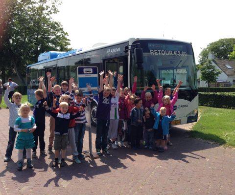 elektrische bus BYD Schiermonnikoog