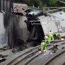 treinramp, Santiago de Compostela, Spanje
