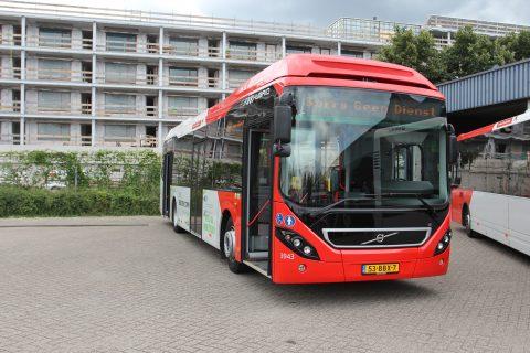 Volvo, hybride bus, Veolia