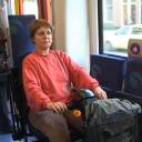 gehandicapte, openbaar vervoer, rolstoel