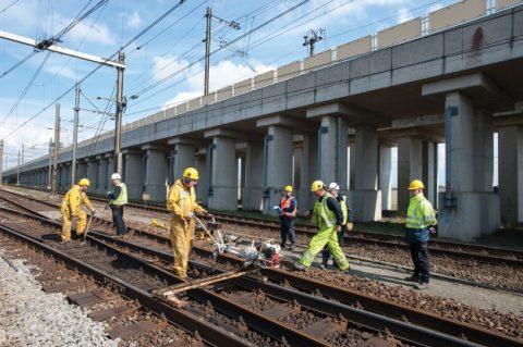 spooronderhoud, werkzaamheden