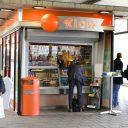 Kiosk, station, Leiden