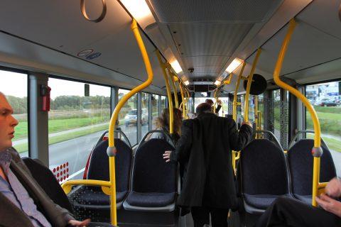 reizigers, bus