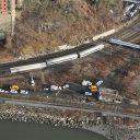 treinongeluk, New York, ontsporing
