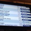 Storm, treindienst, verstoring, reisinformatie NS