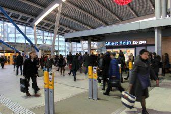 Centraal Station, Utrecht, reizigers