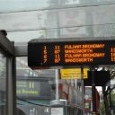 Transport for London, reizigersinformatie, beeldscherm, bus
