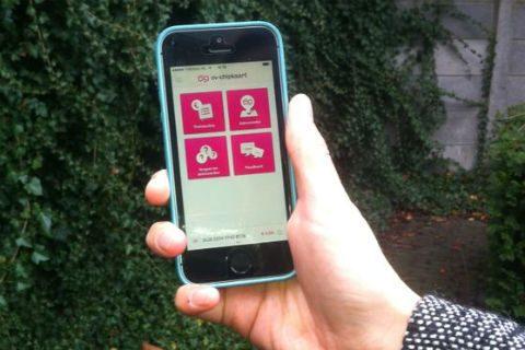 OV-chipkaart, app