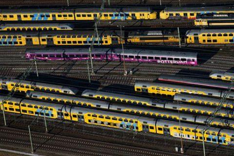 NS, treinen, materieel