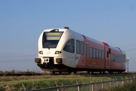 Arriva, trein Sneek-Leeuwarden