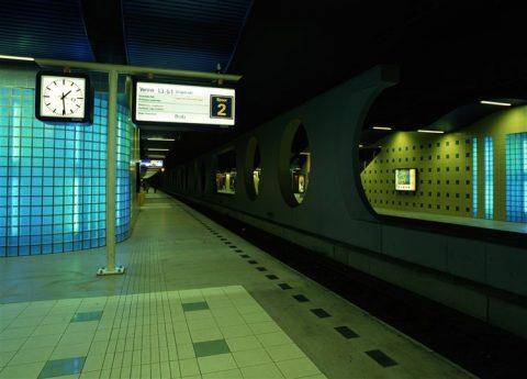 Station Blaak, Rotterdam, spoortunnel
