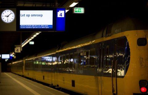 Treinverstoring, Den Haag