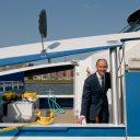Directeur Gerbrand Schutten van Waterbus en Aqualiner