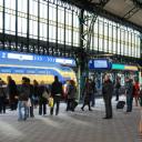 Pilot NS, station Den Bosch, meten reizigersdrukte