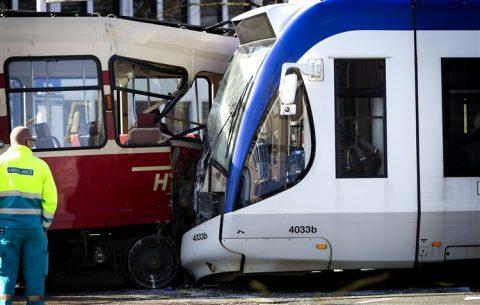 Botsing, tram, HTM, RandstadRail