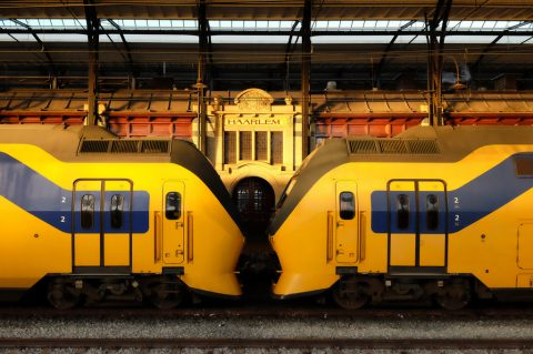 Intercity, trein, NS, station Haarlem, foto: Tim Boric
