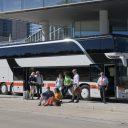 IC-bus, internationale bus, Deutsche Bahn