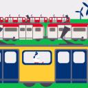 Wedstrijd, groene trein, NS, Eneco