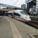 ICE, Deutsche Bahn, Utrecht, Centraal Station