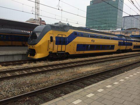 NS, trein, Utrecht Centraal Station