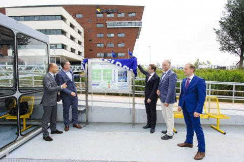 Opening, halte, Waterbus, Rosmolenweg, Papendrecht