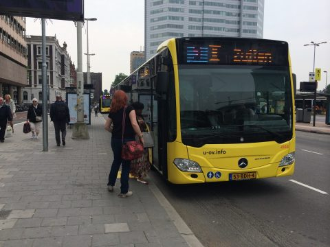Qbuzz, bus, U-OV, Utrecht