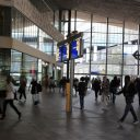 Reizigers, station, Rotterdam Centraal