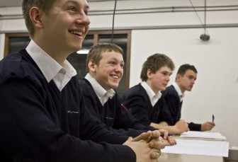 Studenten, mbo-opleiding, Handhaver toezicht en veiligheid, ROC van Twente