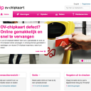 OV-chipkaart, website, Trans Links Systems