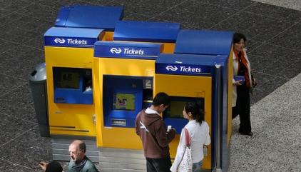 kaartautomaat, NS