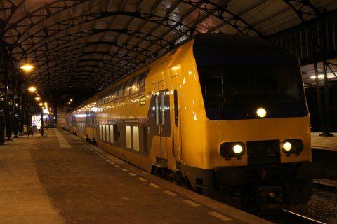 DDZ-trein, NS, station Haarlem