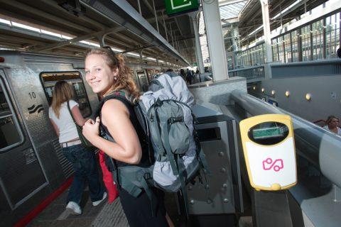 Reiziger, metro, GVB, OV-chippaal