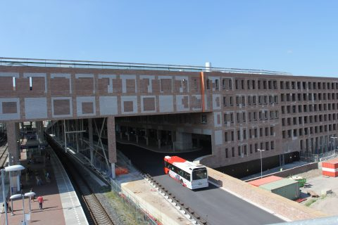 Nieuwe route, bussen, Breda Centraal Station