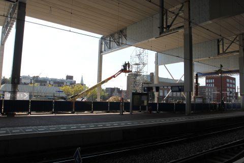 Werkzaamheden, Breda Centraal Station, perron