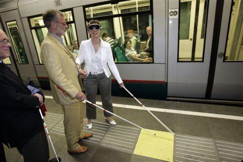 ov, visueel gehandicapt