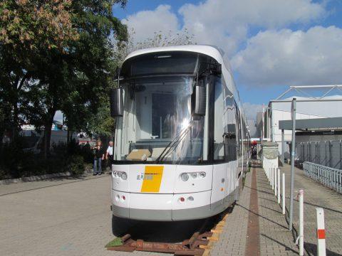 Flexity, supertram, De Lijn, Bombardier, InnoTrans 2014