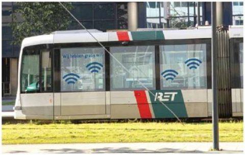 RET, tram, WiFi