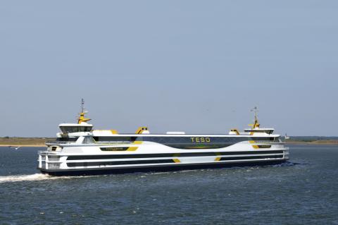 veerboot, aardgas, TESO, Texel, Den Helder, veerdienst