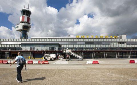 Rotterdam, The Hague, airport, vliegveld, luchthaven, terminal