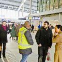 Gestrande reizigers, Utrecht Centraal, station